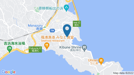 Manazuru Marin Map