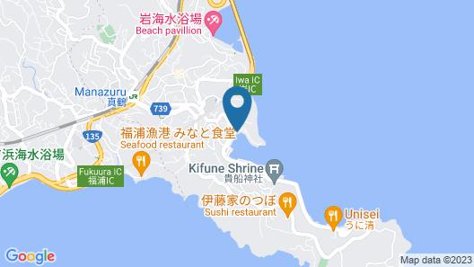 Irifune Ryokan Map