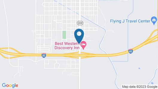 Days Inn by Wyndham Tucumcari Map