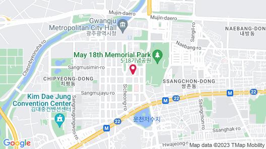 Dubai Hotel Gwangju Map