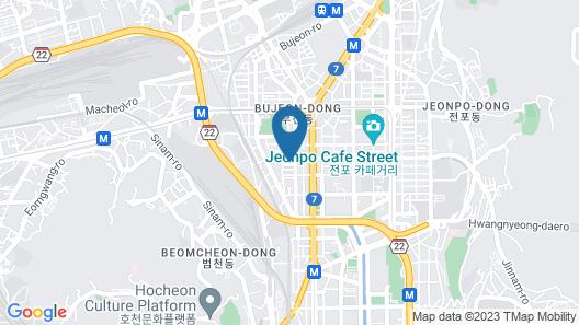 KT&G Sangsang Madang Busan Stay - Hostel Map
