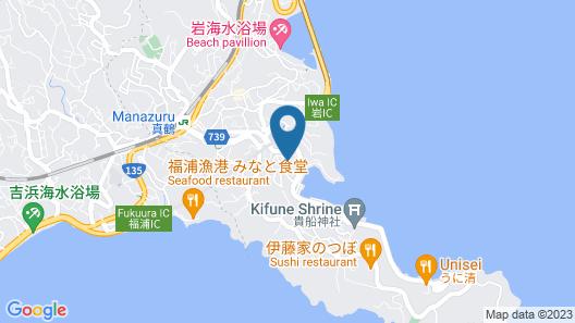 Manazuru Umi Map
