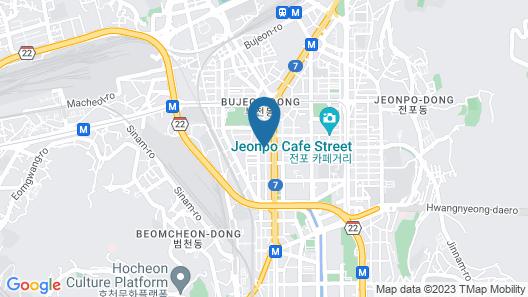 TraveLight - Hostel Map