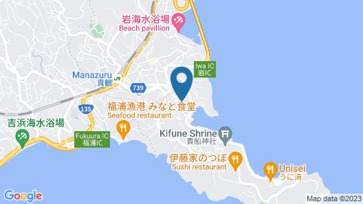 Guesthouse Manazuru Yadokari 852 Map