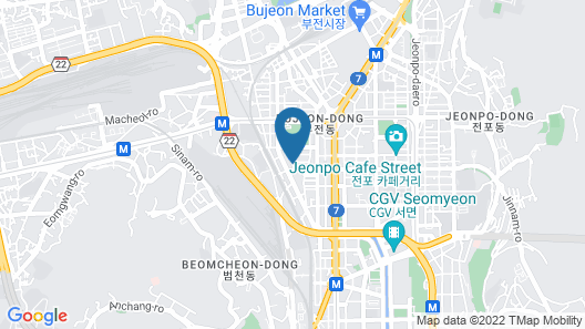 Hound Hotel Seomyeon Map