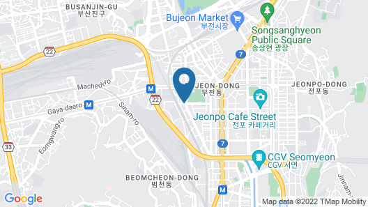 Busan Business Hotel Map