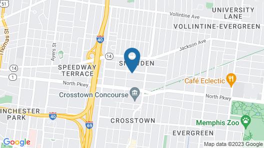 Pegasus Lair Upper Floor Midtown/Crosstown/Crosstown Concourse Map