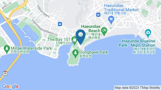 The Westin Josun Busan Map