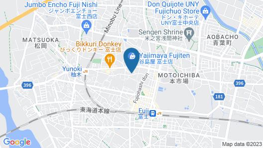 Furuiya Ryokan Map
