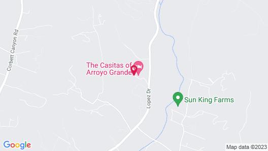 The Casitas of Arroyo Grande Map
