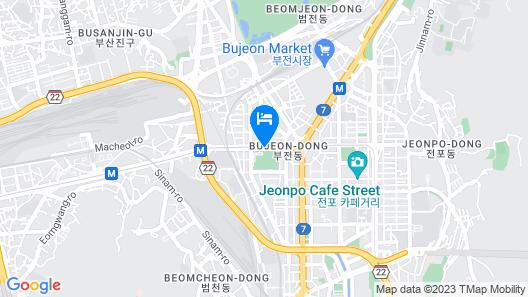 Lotte Hotel Busan Map