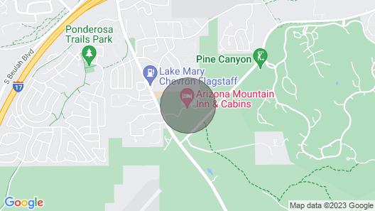 Arizona Mountain Inn and Cabins Map