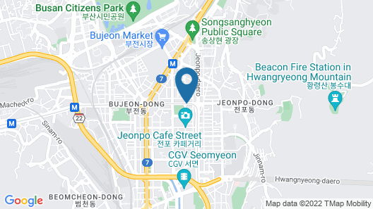 Toyoko Inn Busan Seo-myeon Map