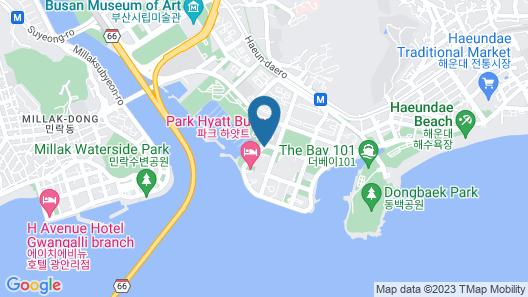 Park Hyatt Busan Map