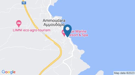 Blue Marine Resort & Spa  Map
