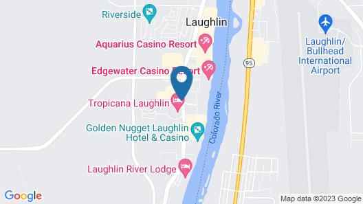 Tropicana Laughlin Map