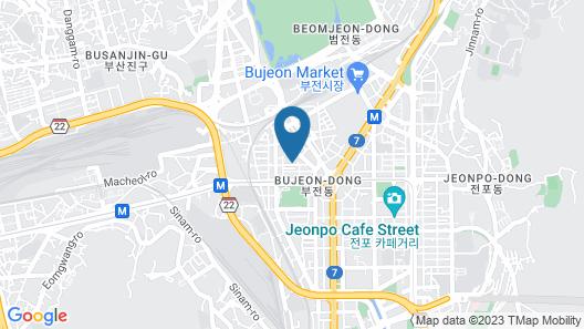 Lala Vianco Hotel Map