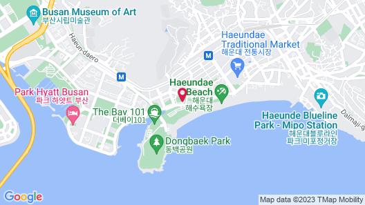 Haeundae Grand Hotel Map