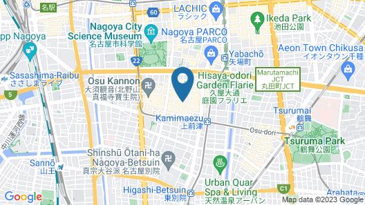 Trip & Sleep Hostel Map