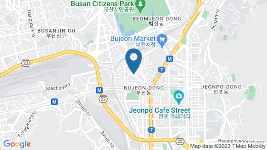 Hotel Kyungsung Map
