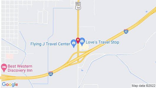 Fairfield Inn & Suites by Marriott Tucumcari Map