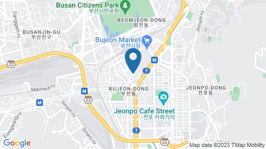 Shin Shin Hotel Map