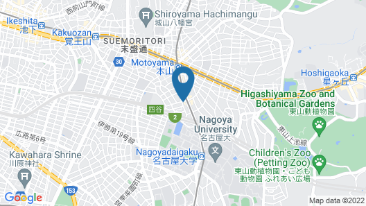 Nagoya Motoyama House D Map