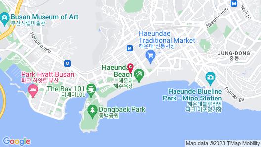 Shilla Stay Haeundae Map