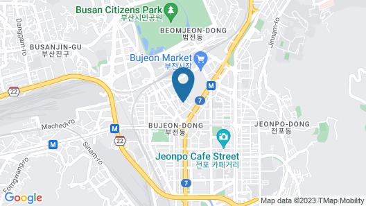 J Motel Map