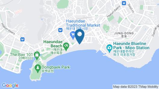 Paradise Hotel Busan Map