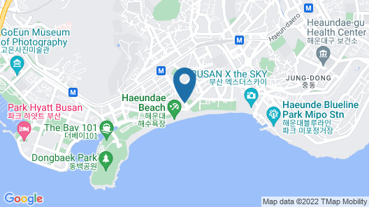 Sunset Business Hotel Map