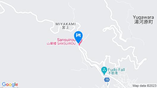 Sansuirou Ryokan Map