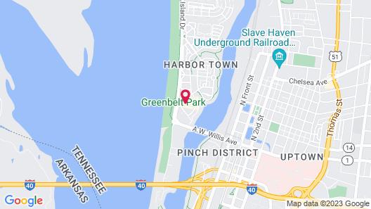 River Inn of Harbor Town Map