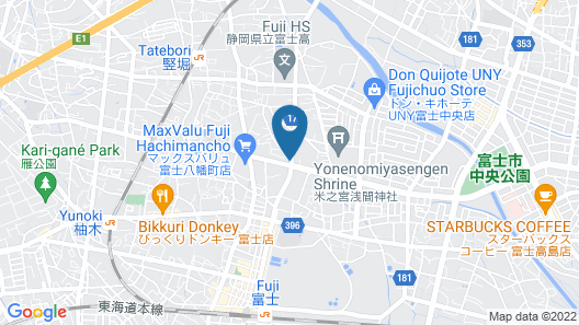 Japanese Tatami Hotel Nagajima Map