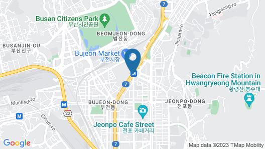 ibis Ambassador Busan City Centre Map