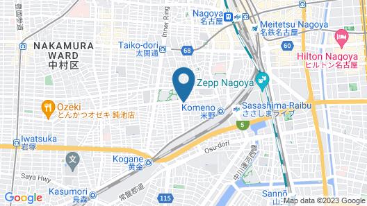 Nakamura-ward-office house 2 Map