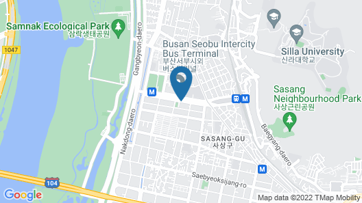 Hotel Paragon Map