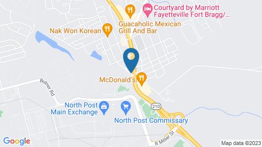 Super 8 by Wyndham Spring Lake/ Fort Bragg Map