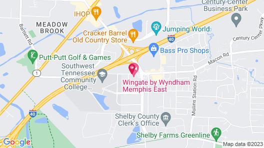 Memphis Inn Map
