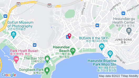 Ramada Encore Haeundae Map
