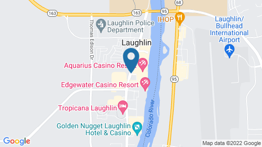 The Aquarius Casino Resort, BW Premier Collection Map