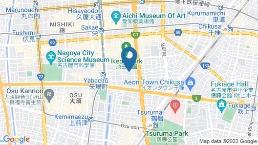Guest house Re-worth Yabacho1 (101) Map