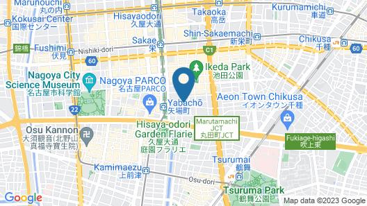 Yabacho apartment (202,205,403,303,203,305,401,405) Map