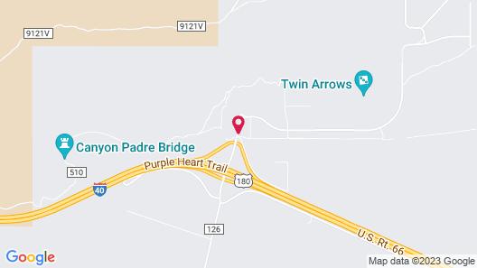 Twin Arrows Navajo Casino Resort Map