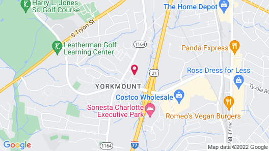 Home2 Suites by Hilton Charlotte Airport Map