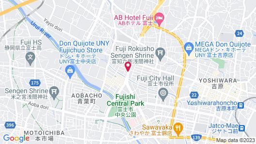APA Hotel Fuji-Chuo Map