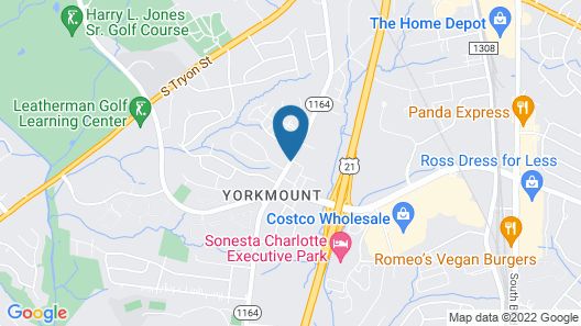 Wingate by Wyndham Charlotte Airport South/ I-77 Tyvola Road Map