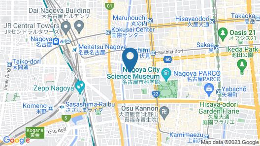 Daiwa Royal Hotel D-CITY Nagoya Nayabashi Map