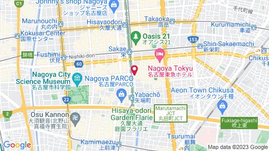 the b nagoya Map