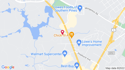 Holiday Inn Express Hotel & Suites Southern Pines, an IHG Hotel Map